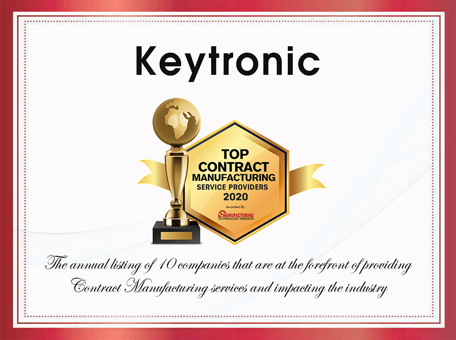 Keytronic Top Contract Manufacturer